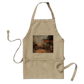City - New Orleans - A look at St Charles Ave 1910 Standard Apron