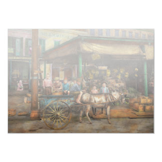 """City - New Orleans LA - Frankie and the boys 1910 5"""" X 7"""" Invitation Card"""