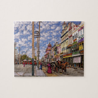 City - New Orleans the Victorian era 1887 Jigsaw Puzzle