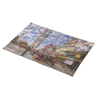 City - New Orleans the Victorian era 1887 Placemat