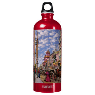 City - New Orleans the Victorian era 1887 Water Bottle