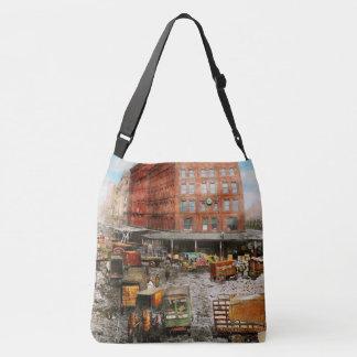 City - New York NY - Stuck in a rut 1920 Crossbody Bag