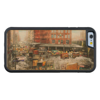 City - New York NY - Stuck in a rut 1920 Maple iPhone 6 Bumper