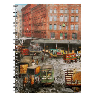 City - New York NY - Stuck in a rut 1920 Notebooks