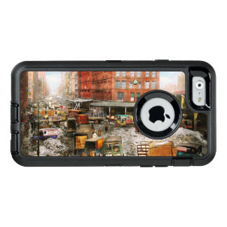 City - New York NY - Stuck in a rut 1920 OtterBox Defender iPhone Case