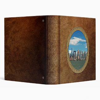 City - New York NY - The New York skyline Vinyl Binder