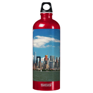 City - New York NY - The New York skyline Water Bottle