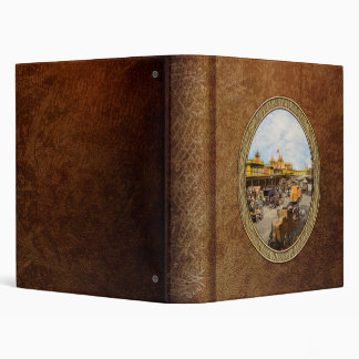 City - NY - A hundred some years ago 1900 3 Ring Binder
