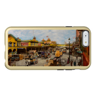 City - NY - A hundred some years ago 1900 Incipio Feather® Shine iPhone 6 Case