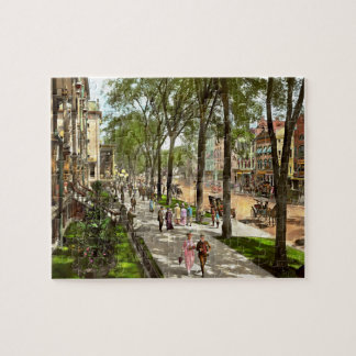 City - NY -  I would love to be on Broadway 1915 Jigsaw Puzzle