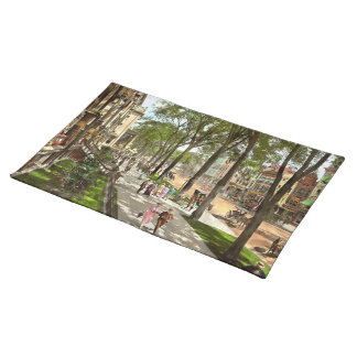 City - NY -  I would love to be on Broadway 1915 Placemat