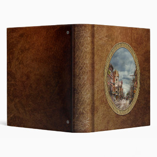 City - NY - The ever changing market place 1906 3 Ring Binder