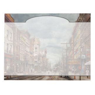 City - NY - The ever changing market place 1906 Notepads