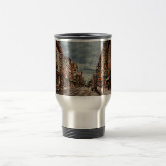 City - NY - The ever changing market place 1906 Travel Mug