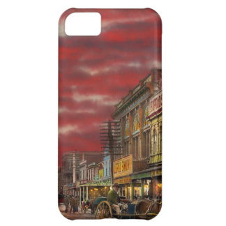 City - NZ - The shopping district 1908 iPhone 5C Cover