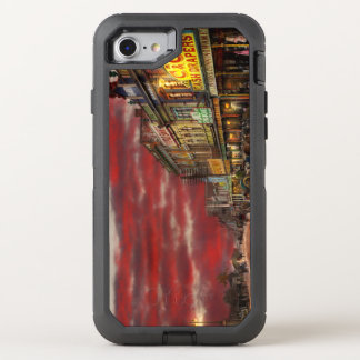 City - NZ - The shopping district 1908 OtterBox Defender iPhone 7 Case