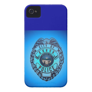 City of Akron Ohio Police Blackberry Case. iPhone 4 Case-Mate Cases
