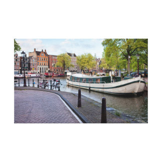 City of Amsterdam Canvas Print