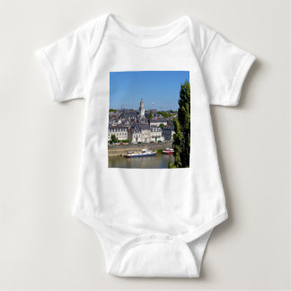 City of Angers in France Baby Bodysuit