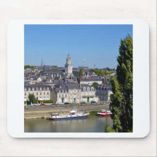 City of Angers in France Mouse Pad