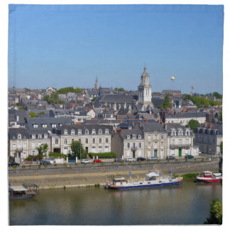 City of Angers in France Napkin