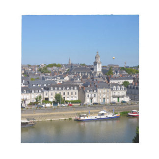 City of Angers in France Notepad