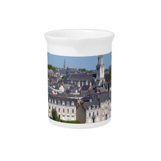 City of Angers in France Pitcher