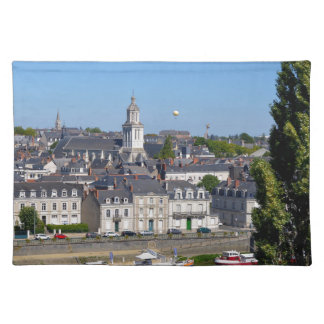 City of Angers in France Placemat