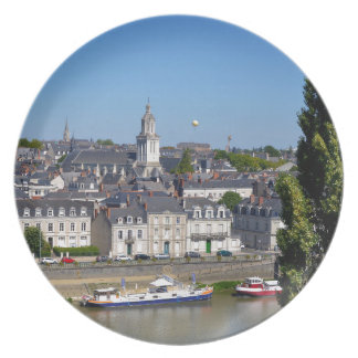 City of Angers in France Plate
