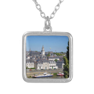 City of Angers in France Silver Plated Necklace