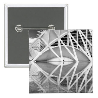 City of Arts and Sciences 2 Inch Square Button