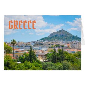 City of Athens, Greece Card