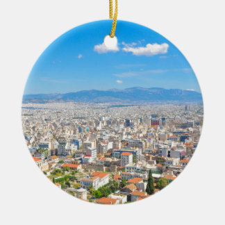 City of Athens, Greece Ceramic Ornament
