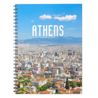 City of Athens, Greece Notebook