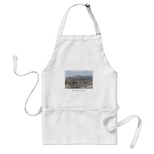 City of Barcelona Spain Cityscape Aprons