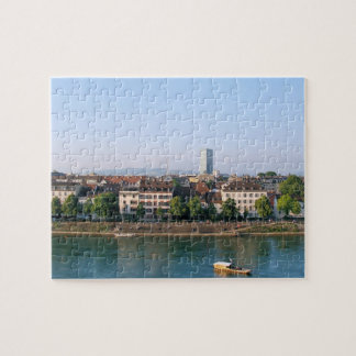 City of Basel in the Switzerland Souvenir Jigsaw Puzzle