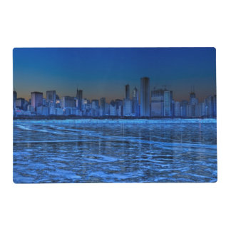 City of broad shoulders and lake Michigan Laminated Placemat