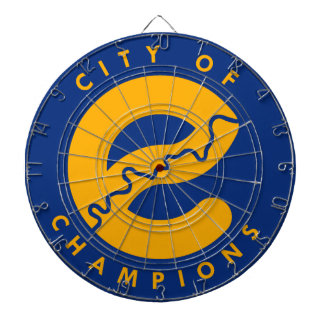 City of Champions Dartboard