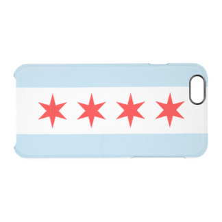 City of Chicago Flag Clear iPhone 6/6S Case