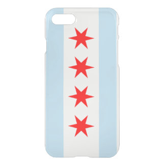 City of Chicago Flag iPhone 7 Case