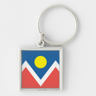 City of Denver flag Keychain
