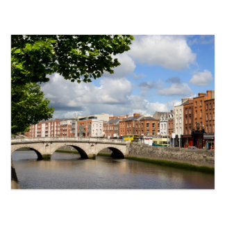 City of Dublin in Ireland Postcard