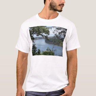 City of Dubuque, Iowa on the Mississippi River T-Shirt