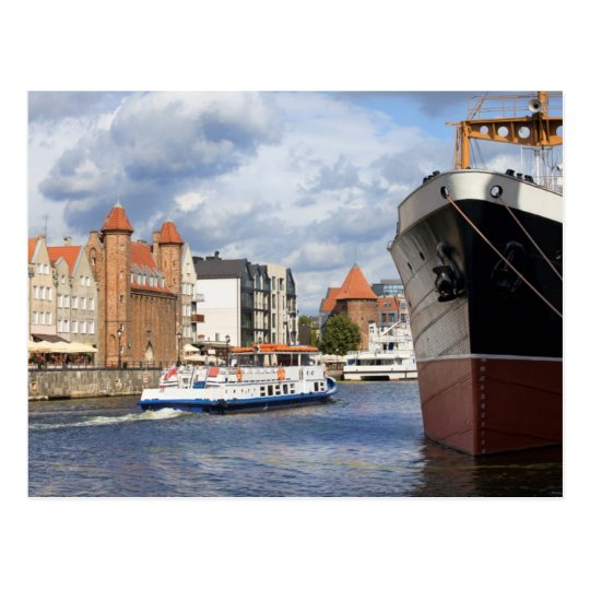 City of Gdansk in Poland Postcard