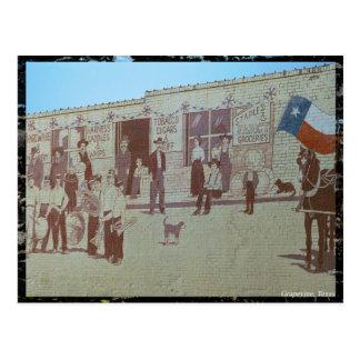 City of Grapevine Postcard