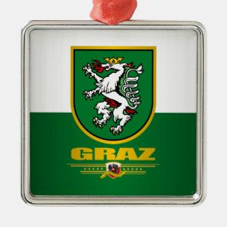City of Graz Metal Ornament