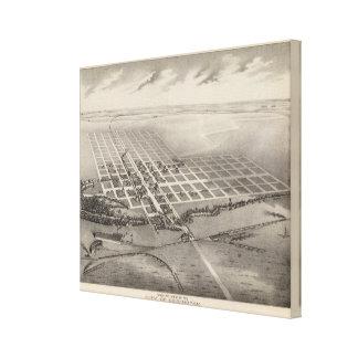 City of Herington, Kansas Gallery Wrap Canvas