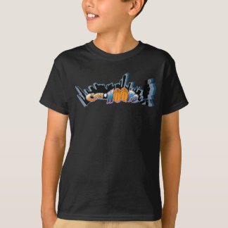 City Of Hoops Youth: The Logo/ Front And Back T-Shirt
