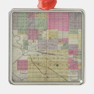 City of Hutchinson, Reno County, Kansas Metal Ornament