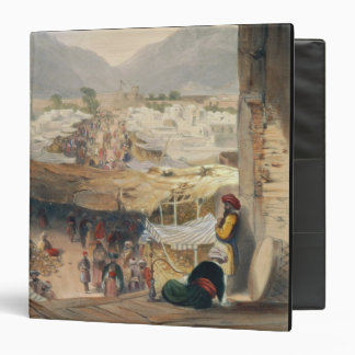City of Kandahar, its Principal Bazaar and Citadel Vinyl Binder